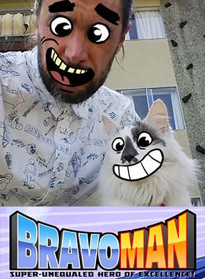 Cowie, Grahaeme - Bravoman
